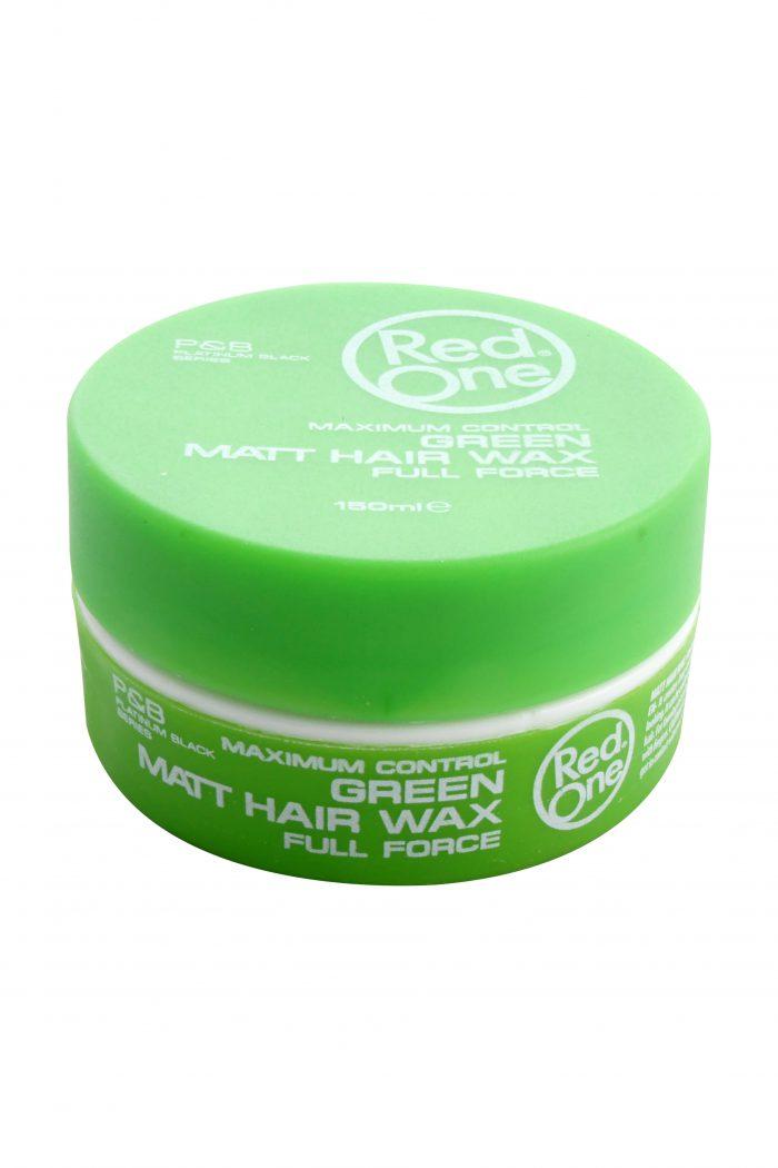 Green Matt Hair Wax, 150 ml