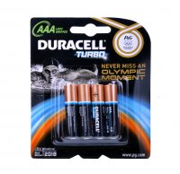 batterijen duracell turbo 4 pak AAA