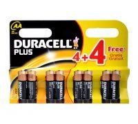 Plus Batterijen AA, 8 Stuks