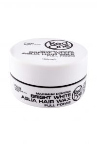 Bright White Aqua Hair Gel Wax, 150 ml