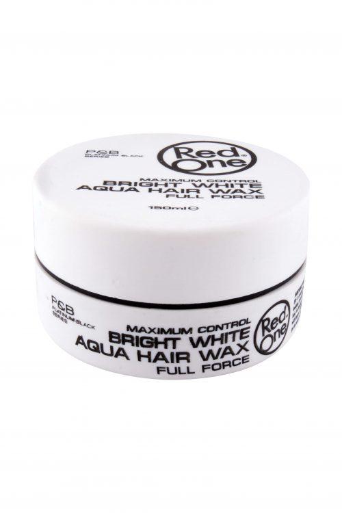 Bright White Aqua Hair Gel Wax, 150 ml