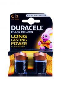 Plus Power Batterijen C, 2 Stuks