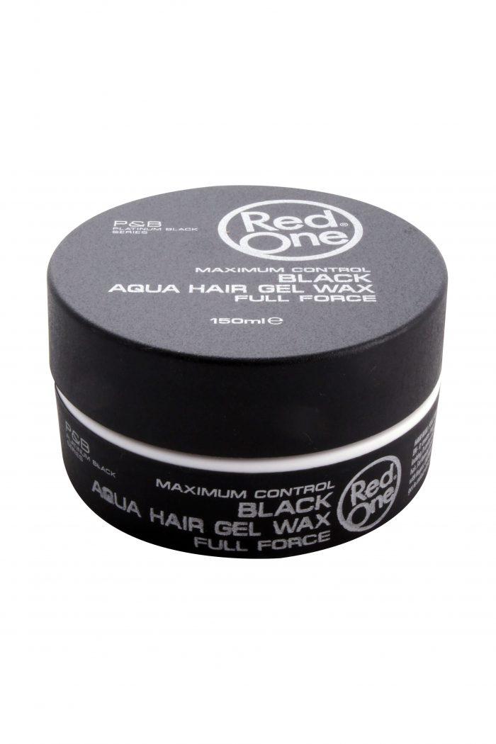 Black Aqua Hair Gel Wax, 150 ml