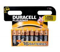 Plus Power Batterijen AA, 16 Stuks