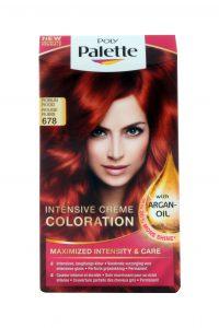 Haarverf Intensive Creme Color 678, Robijn Rood