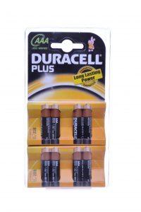 batterijen duracell plus 8 pak AAA