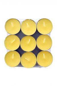 Geurkaars Waxine Citronella, 18 Stuks