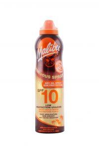 Zonnebrand Continue Spray Dry Oil Spf 10, 175 ml