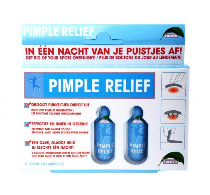 Pimpel relief in 1 nacht van je puistjes af 10 ampullen