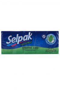 Zakdoeken Menthol Breathe Easy 4 laags, 10 Pakjes