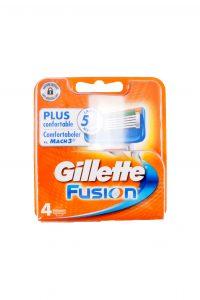 Scheermesjes Fusion 4 pack