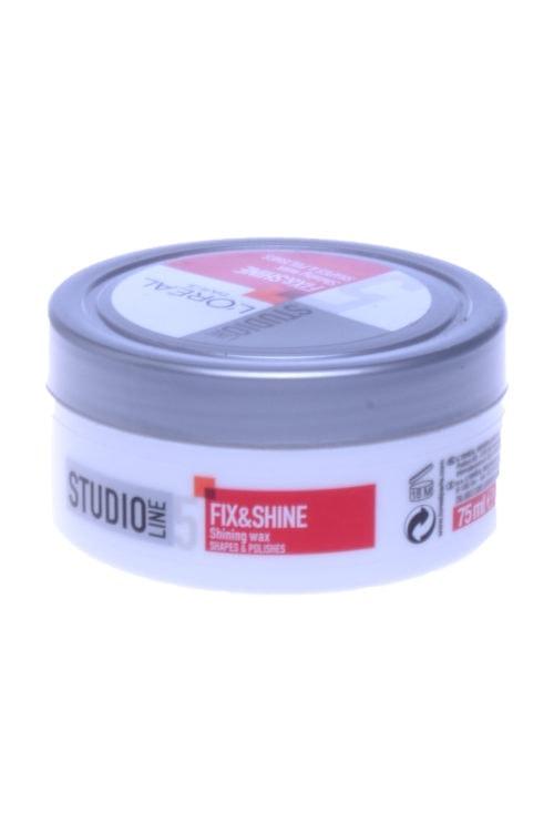 Studio Line Fix & Shine Shining Wax, 75 ml