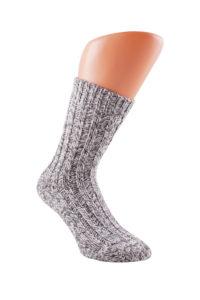Norweger Outdoor Sokken Grijs, 2 paar