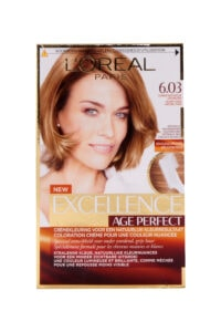 Excellence Creme Age Perfect Haarverf 6.03 Donker Natuurlijk Goudblond
