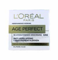 L'Oreal Dagcreme Age Perfect Re-hydraterend, 50 ml