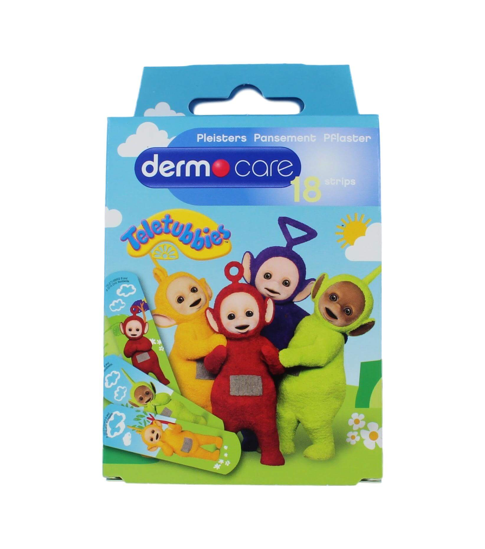 Dermo Care Kinderpleister Teletubbies, 18 Stuks