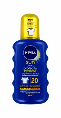 Nivea Sun Zonnemelk Protect & Hydrate Factor 20 Spray, 200 ml