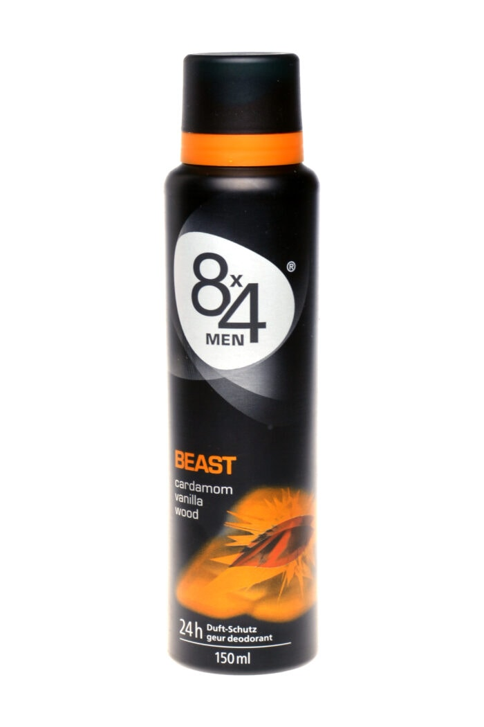 8x4 Deodorant Beast For Men, 150 ml