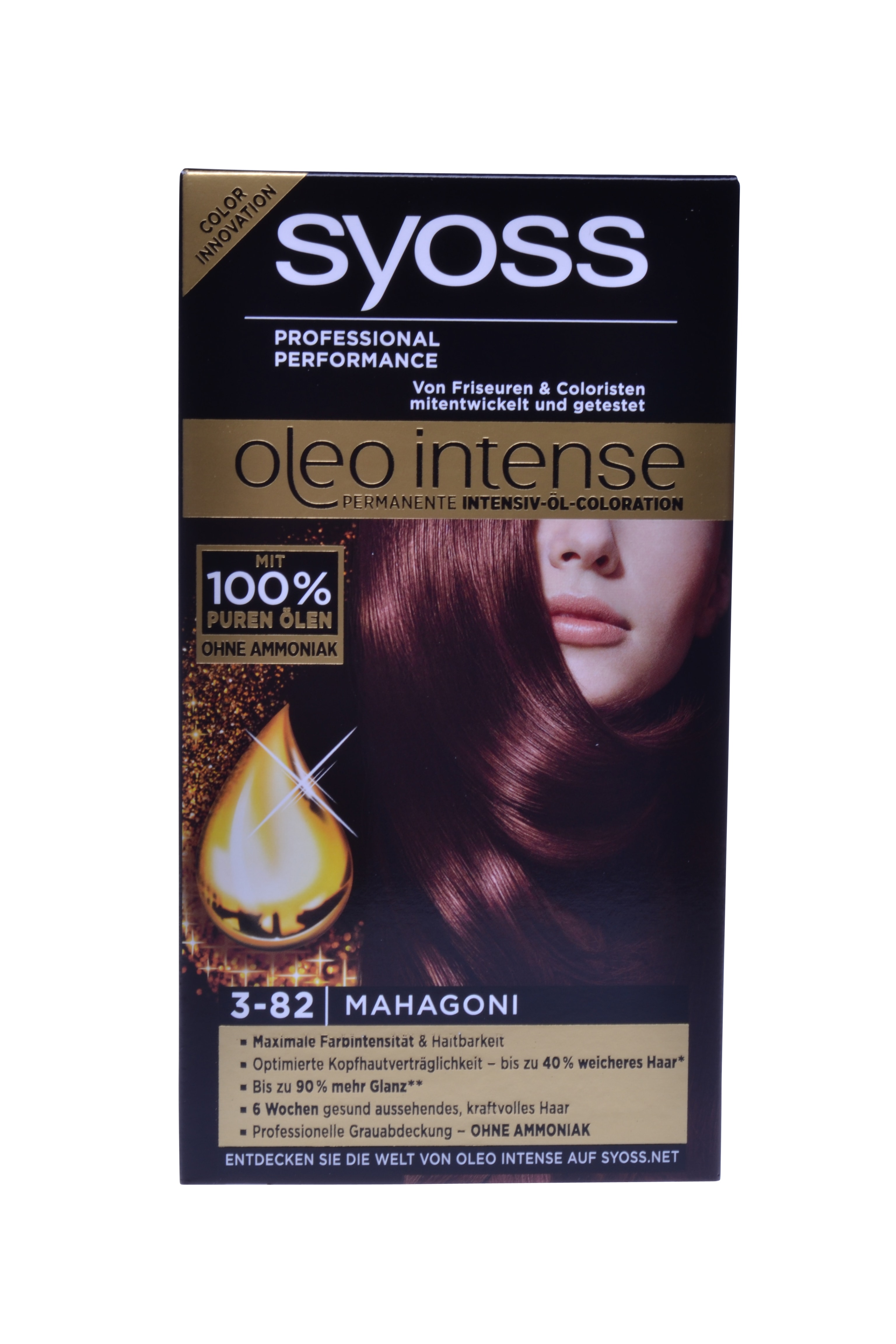 Syoss Oleo Intense Haarverf 3-82 Mahonie