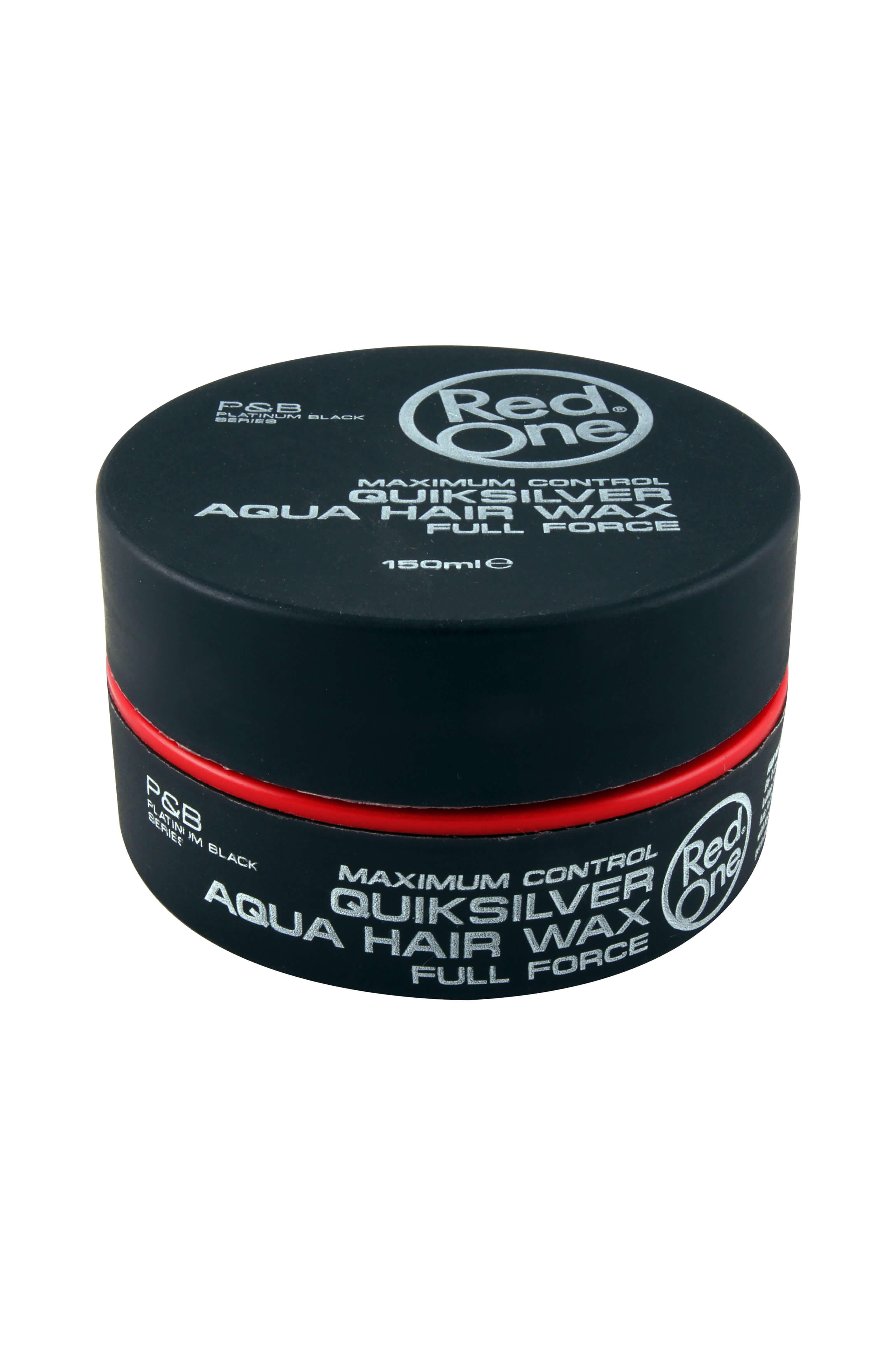 Red One Quiksilver Aqua Hair Gel Wax, 150 ml