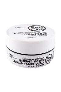Red One Bright White Aqua Hair Gel Wax, 150 ml