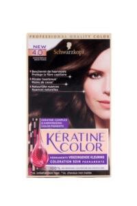 Keratine Color Haarverf 4.0 Donkerbruin
