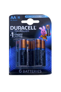 Duracell Ultra Power Batterijen AA, 6 Stuks