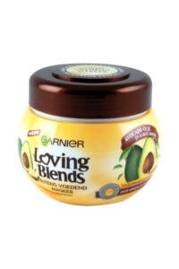 Garnier Loving Blends Haarmasker Avocado Olie En Karite Boter, 300 ml