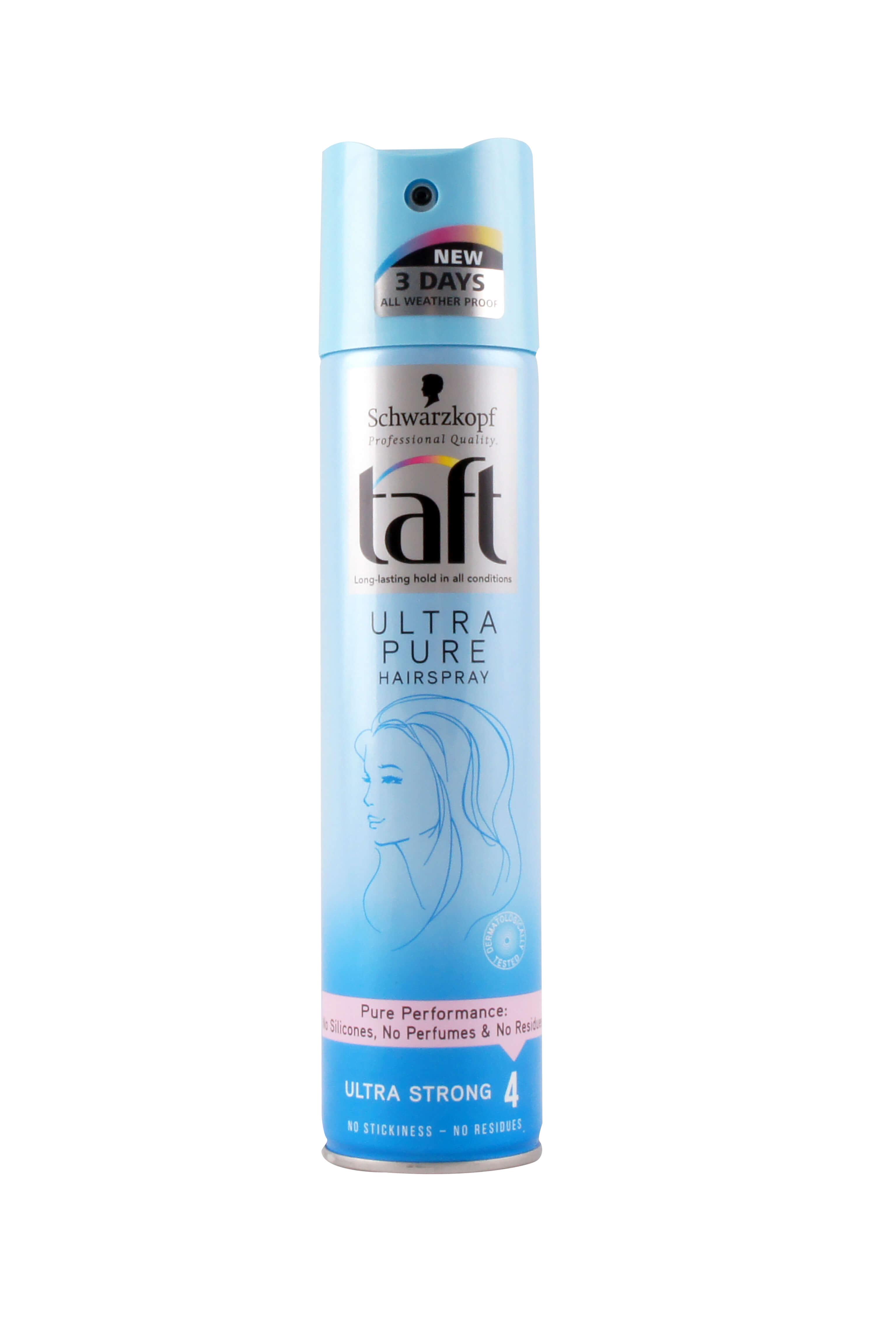 Taft Haarlak Ultra Pure Ultra Strong, 250 ml