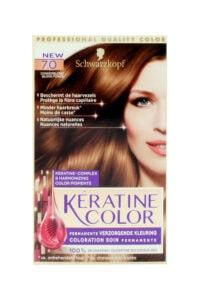 Keratine Color Haarverf 7.0 Donkerblond