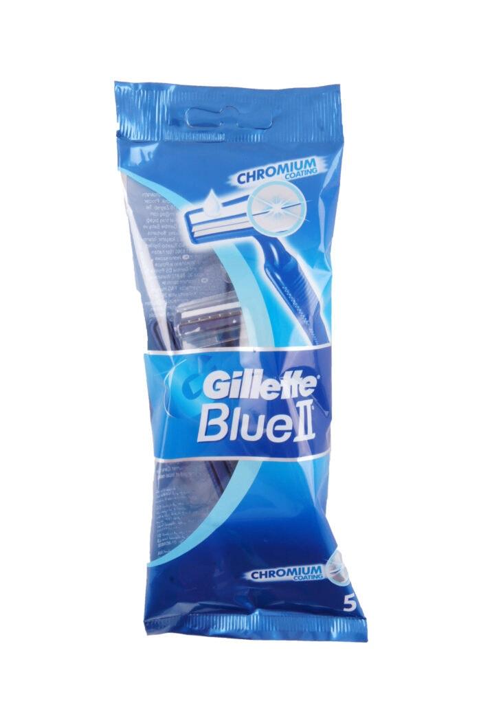 Gillette Wegwerpscheermesjes Blue II, 5 Pcs