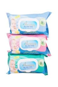 Harmony Babydoekjes Aloevera, 80 pcs