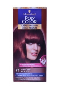 Poly Color Haarverf 71 Mahonie