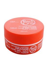 Red One Orange Aqua Hair Gel Wax, 150 ml