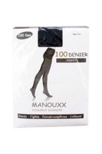 Manouxx Panty Elegance 100 Den Marine