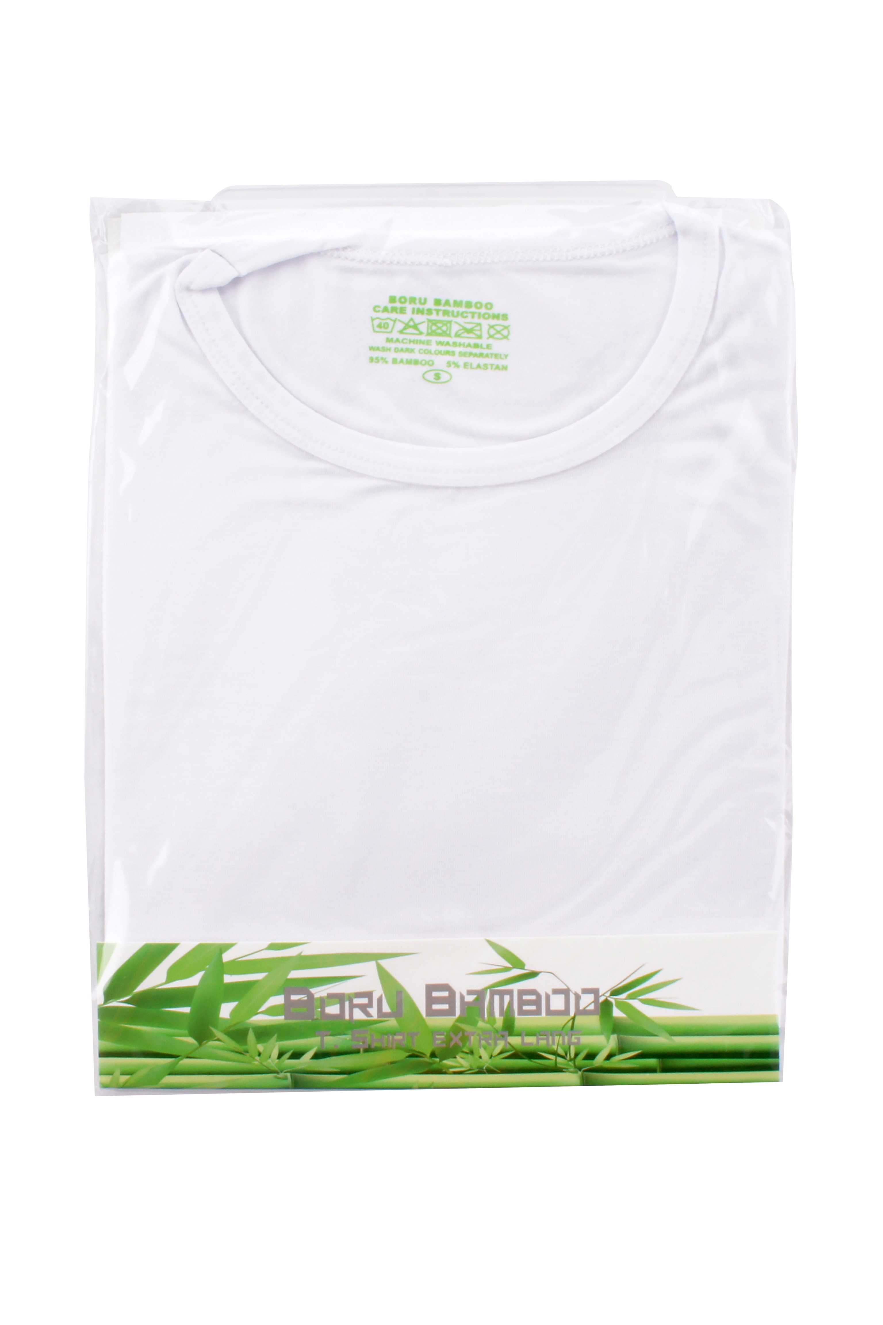 Boru Bamboo T-Shirt Wit