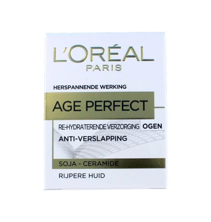 L'Oreal Oogcreme Age Perfect Re-hydraterend, 15 ml