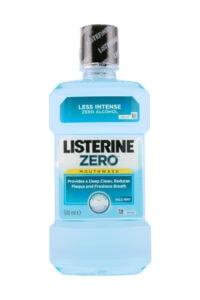 Listerine Mondwater Zero Mild Mint, 500 ml