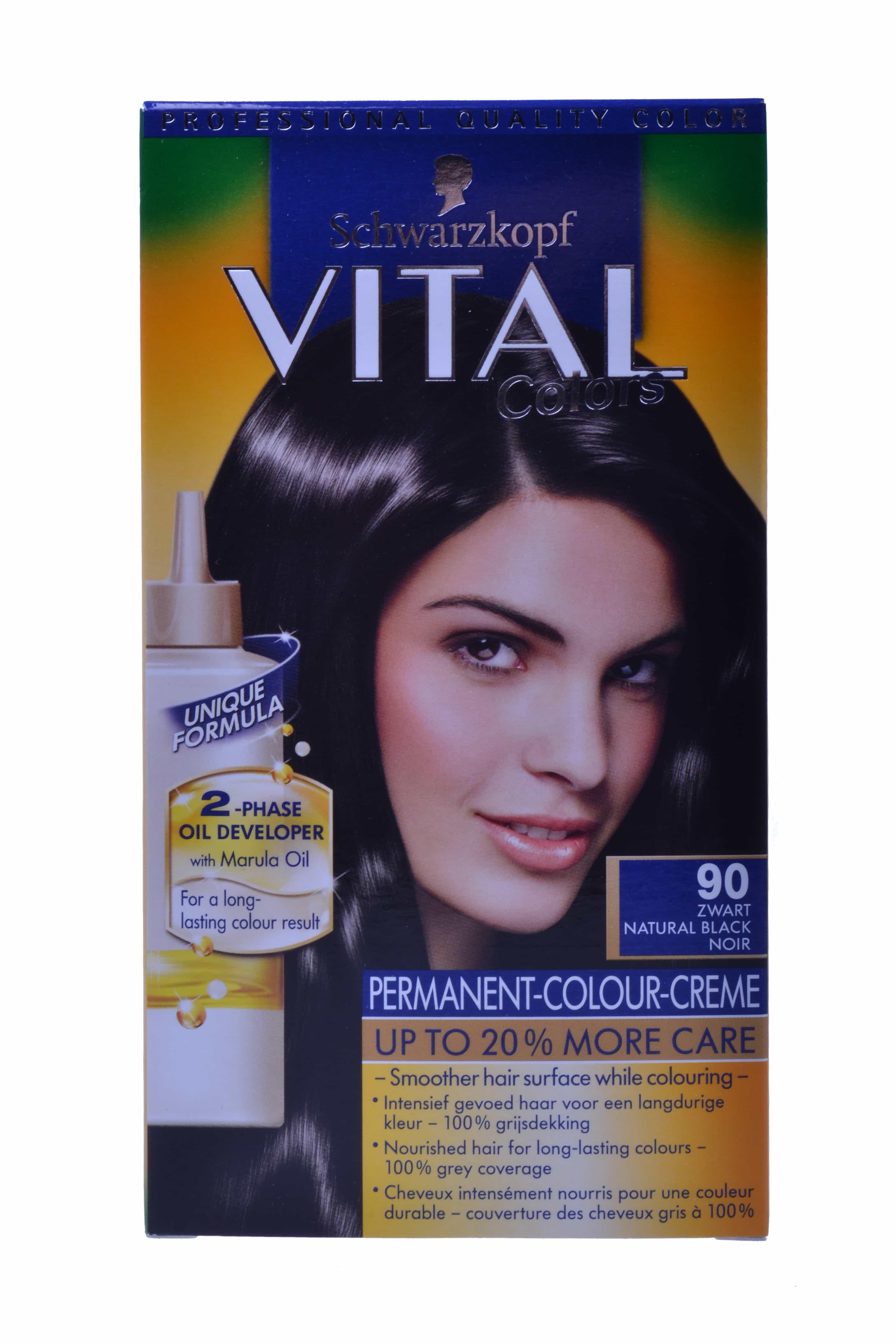 Vital Colors Haarverf 90 Zwart