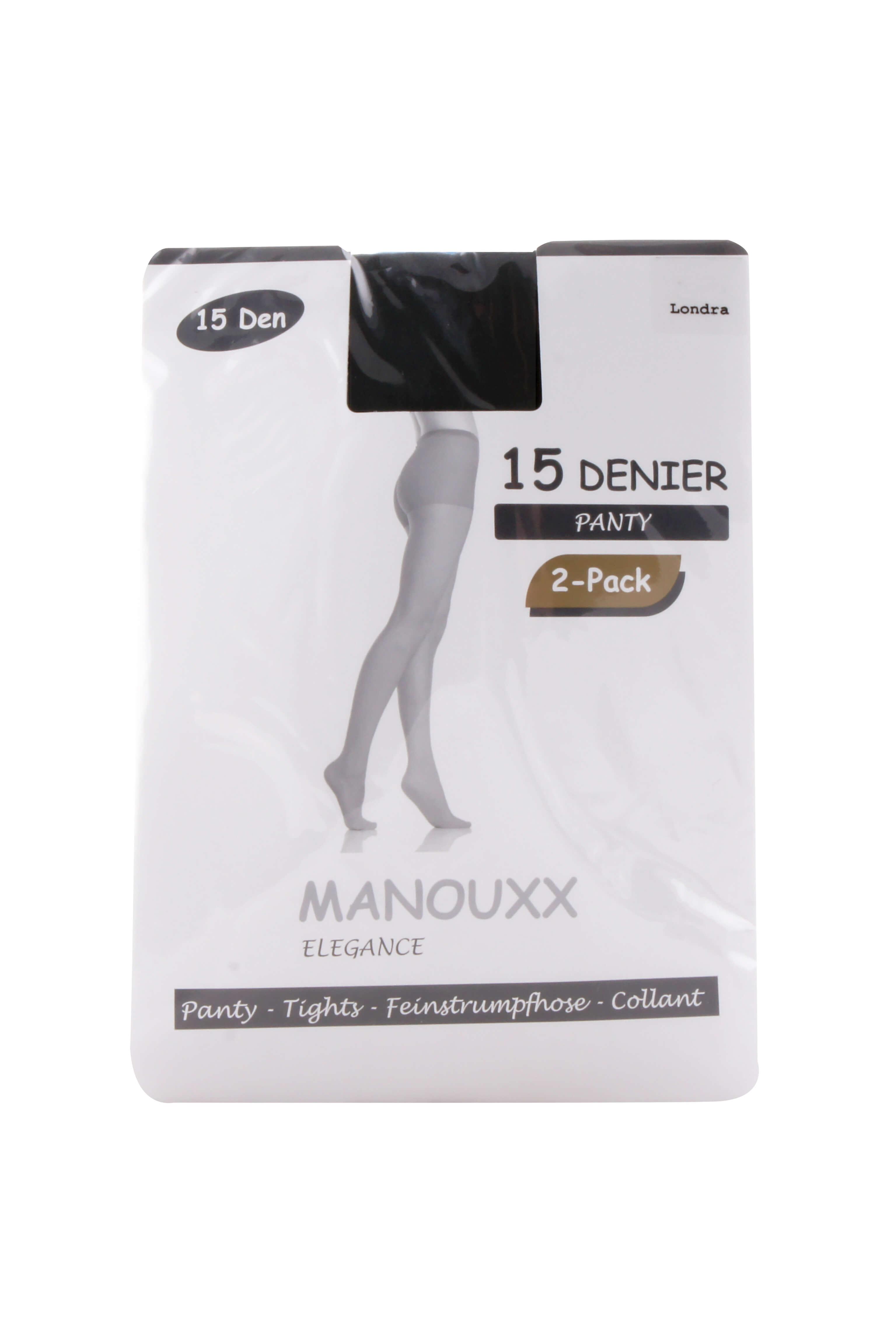 Manouxx Panty Dance 2-pack 15 Den Londra
