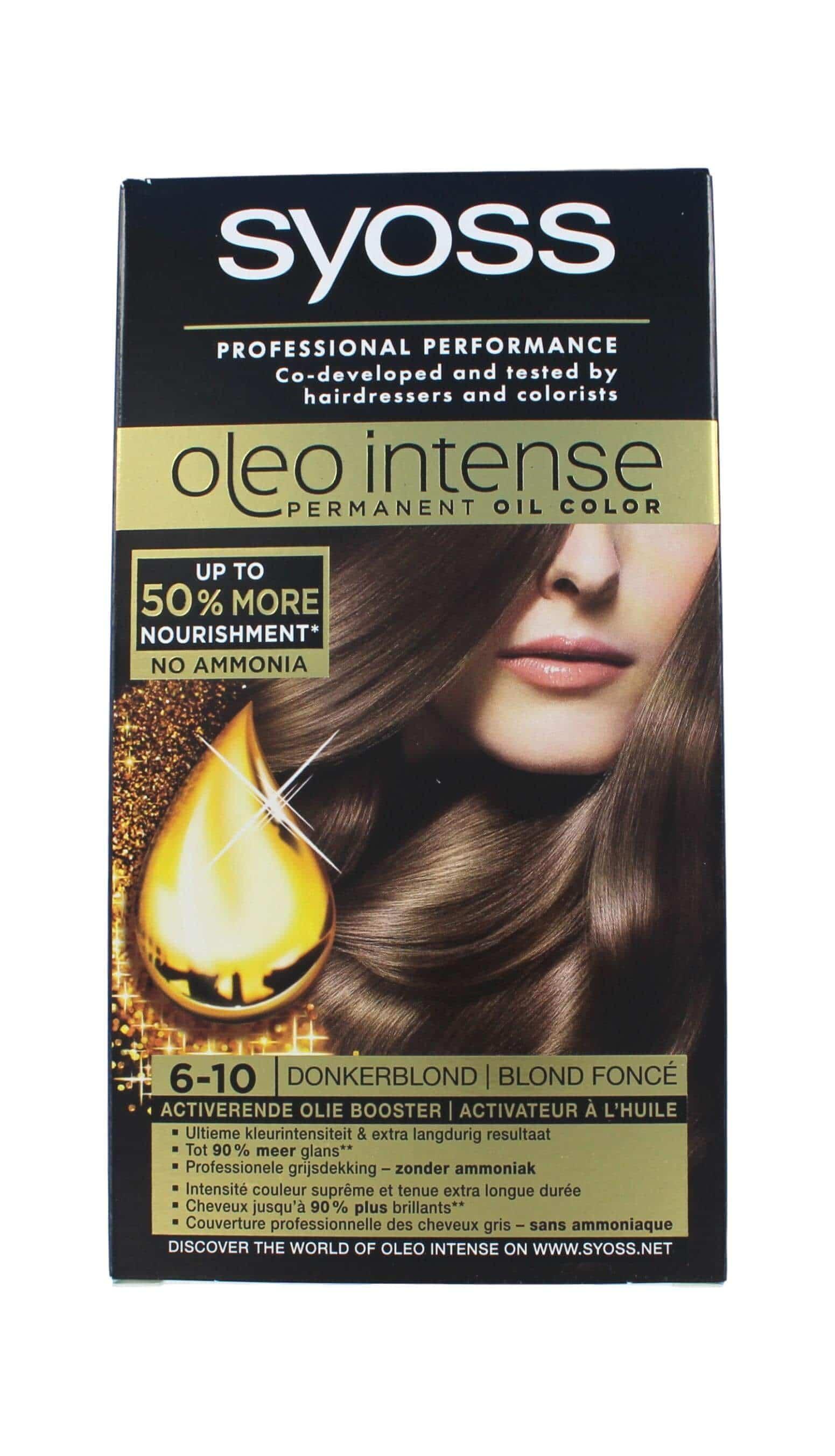Syoss Oleo Intense Haarverf 6-10 Donkerblond