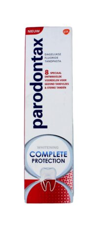 Parodontax Tandpasta Complete Protection Whitening, 75 ml