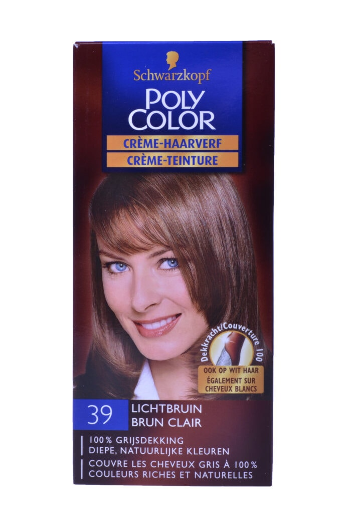 Poly Color Haarverf 39 Lichtbruin