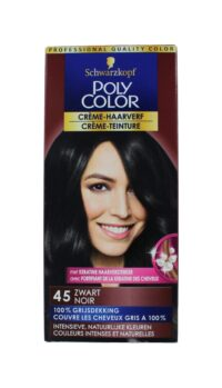 Poly Color Haarverf 45 Zwart