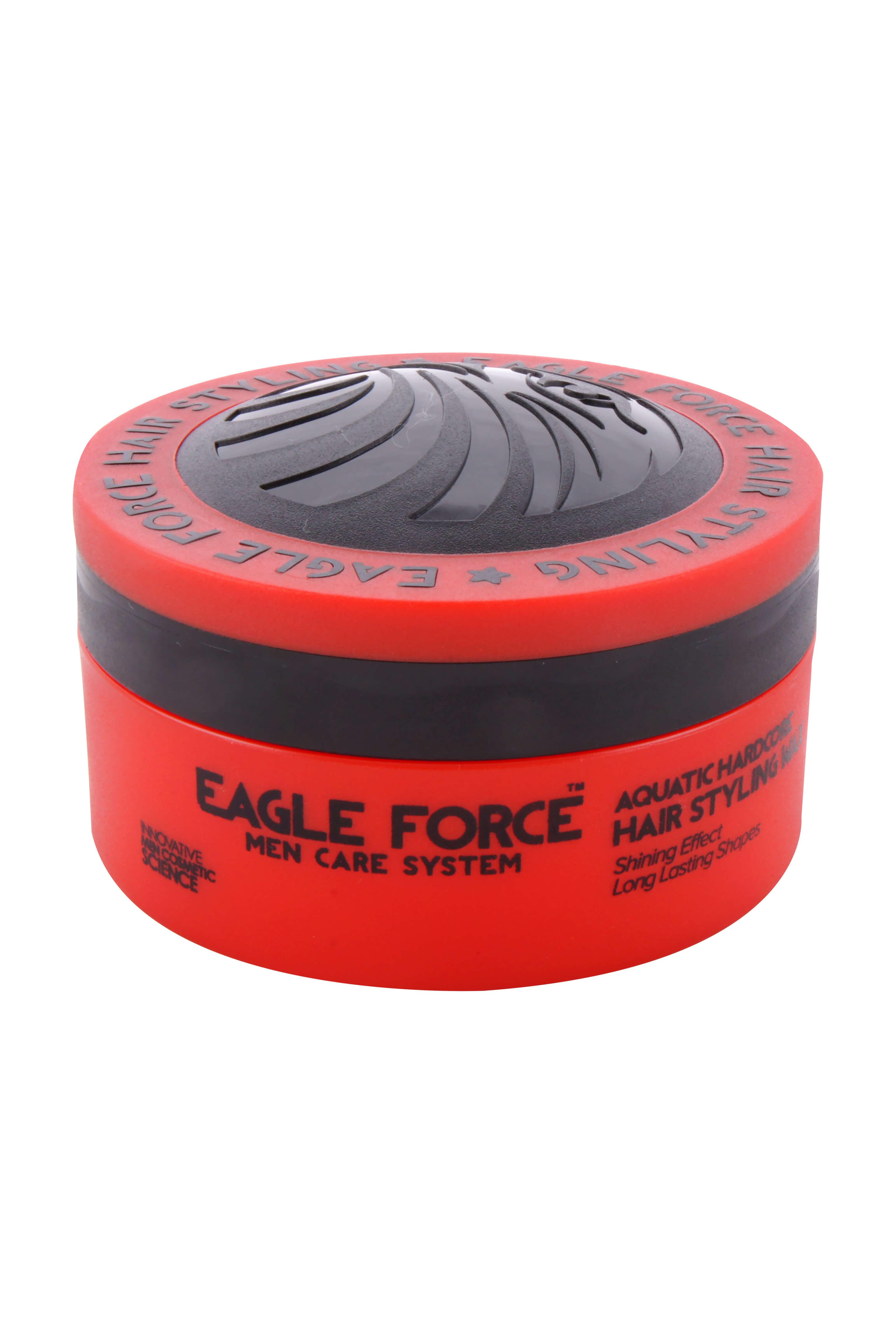 Eagle Force Hair Styling Wax Aquatic Hardcore, 150 ml