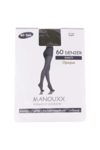 Manouxx Panty Opaque 60 Den Olive