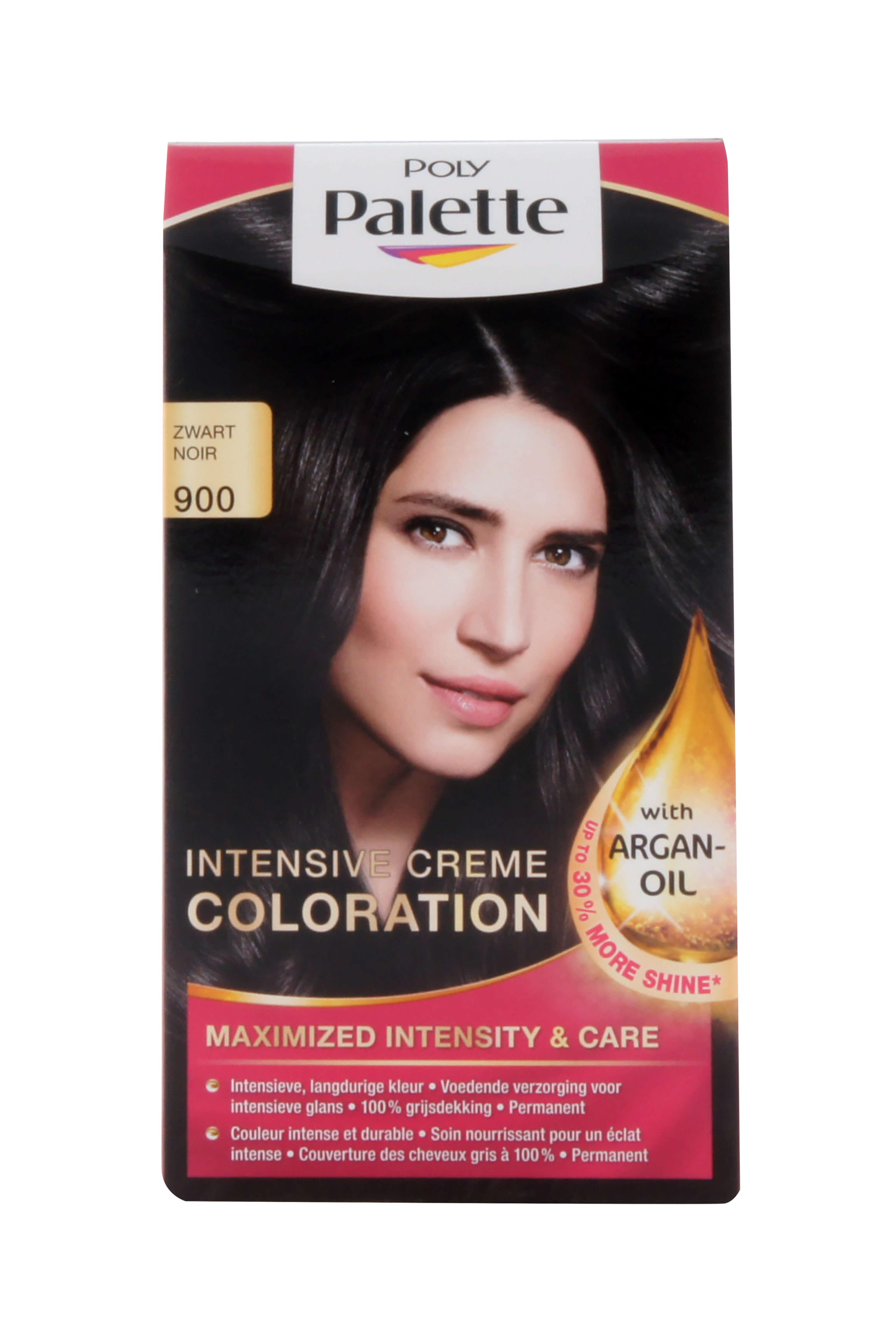 Poly Palette Haarverf Intensive Creme Color 900 Zwart