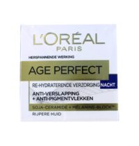 L'Oreal Nachtcreme Age Perfect Re-hydraterend, 50 ml