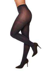 Manouxx Panty Shiny 35 Den Anthra