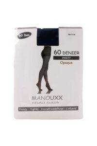 Manouxx Panty Opaque 60 Den Marine